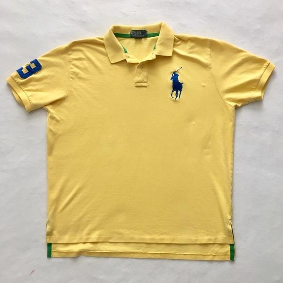 d4baef80 Polo by Ralph Lauren Shirts | Polo Ralph Lauren Yellow Polo Shirt 3 ...